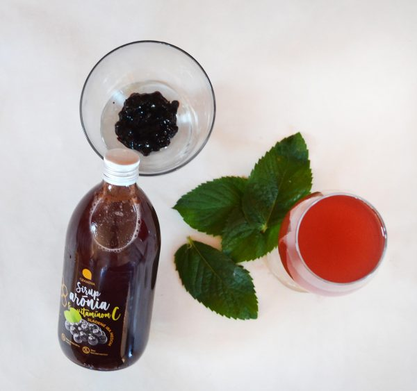 Sirup arónia s vitamínom C