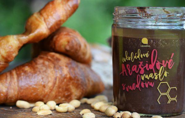 Arašidové maslo čokoládové s medom