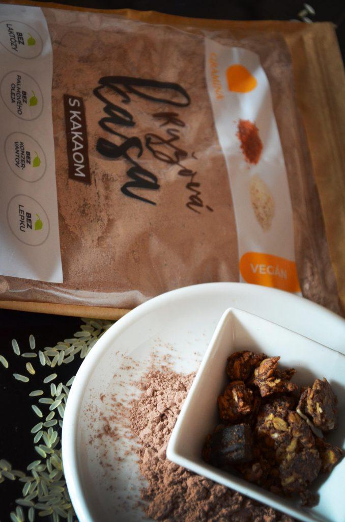Ryžová kaša kakaová