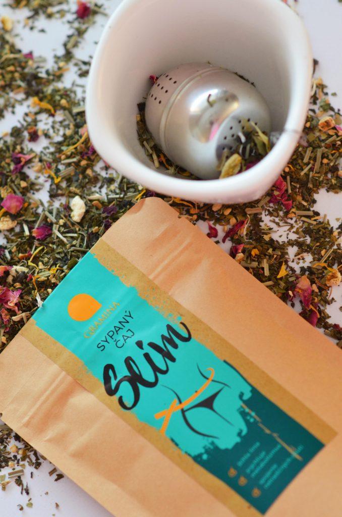 Sypaná čaj SLIM
