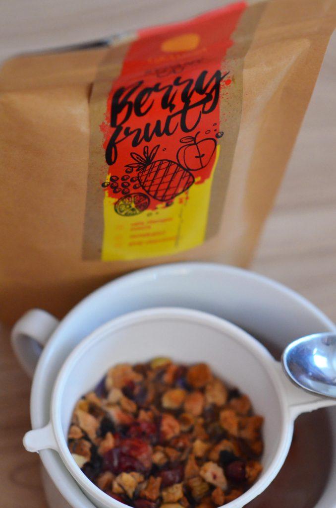 Sypaný čaj berry fruit