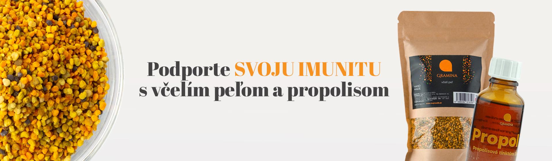 Včelí peľ - Propolis