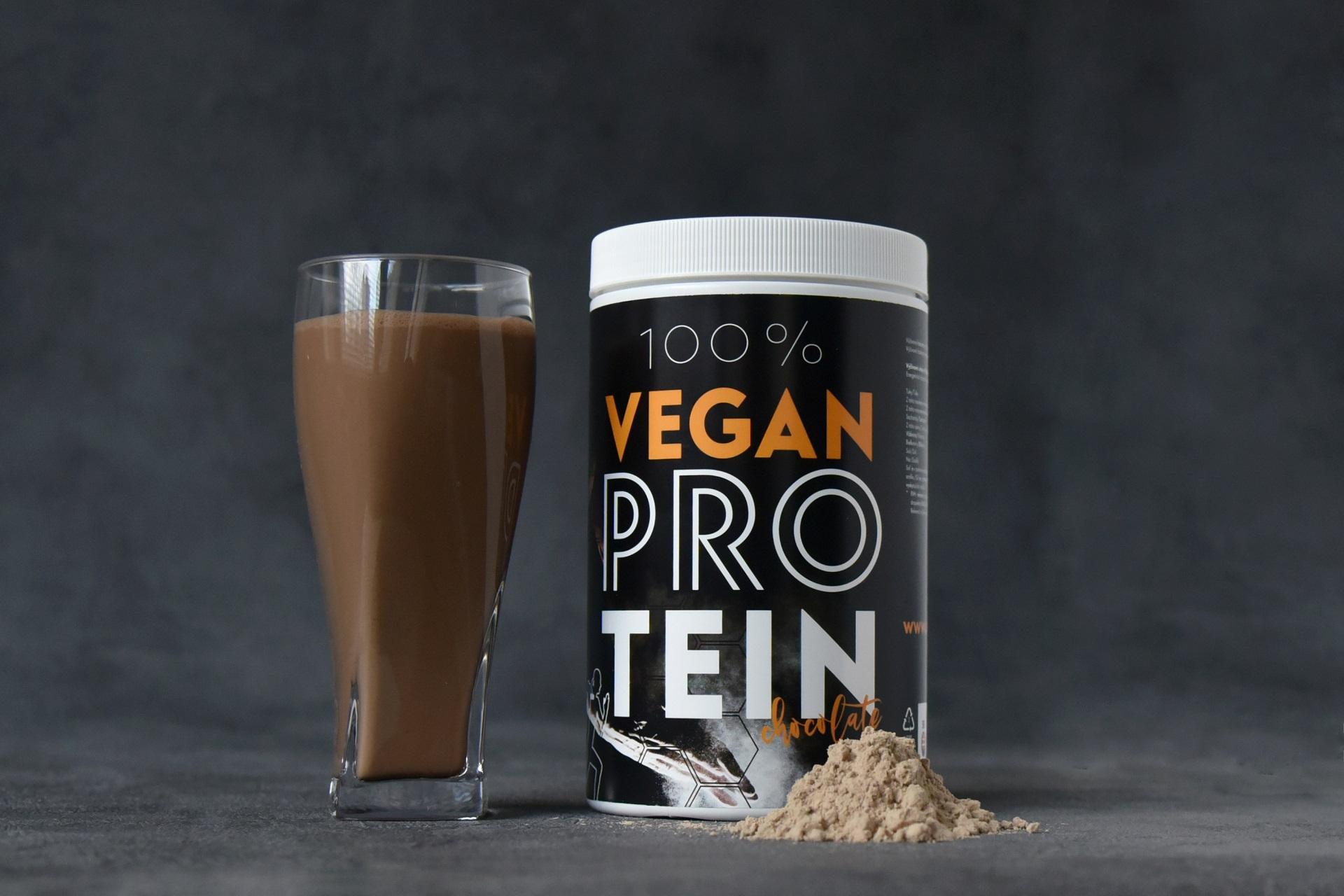 100% vegánsky proteín
