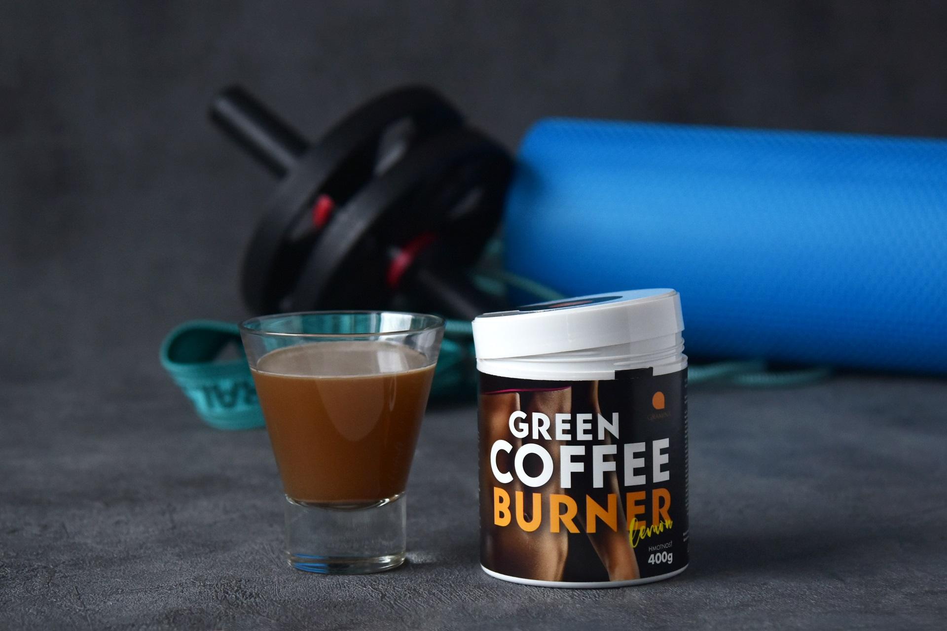 Spaľovač tukov – GREEN COFFEE BURNER 400g